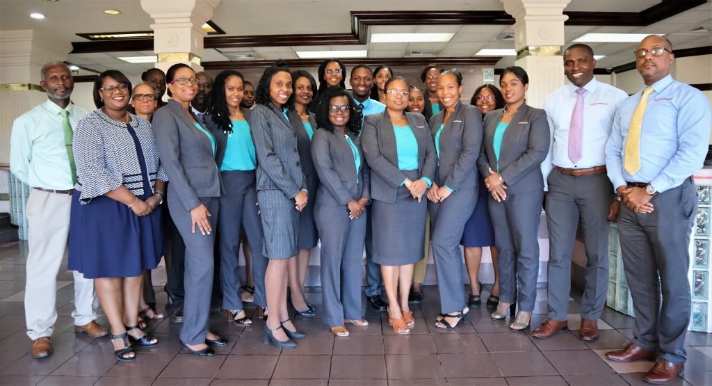 ALL STAFF OF THE ST. VINCENT BUILDING & LOAN ASSOCIATION